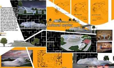 present your architectural design project