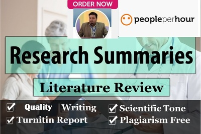 Research and write 1000 word research article, paper