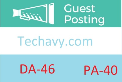 Publish  guest post tech site on techavy.com