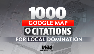 Build you 1000 Google Map Citations For Local DOMINATION