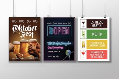 Design your flyer/poster with unlimited revision