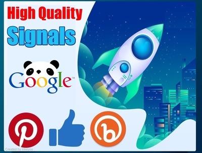 Op 3 Social Media 50,000 SEO Social Signals / Backlinks