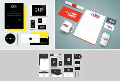 Design complete brand identity