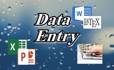 Do Quick Data Entry On Word, Excel, Power Point And Latex