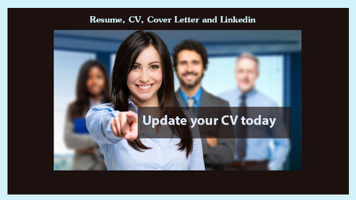 Professionally write, edit and design your resume, cover letter