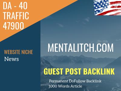 USA News Related 47900 Traffic 40 DA Guest post link