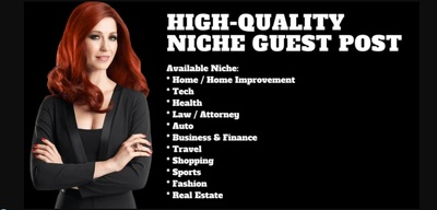 Do Niche Guest Post In High Authority Blogs