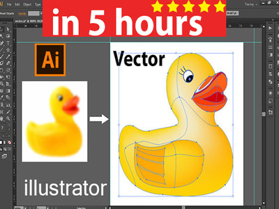 Vector trace logo image  in high resolution , vectorise  tracing