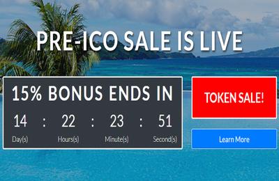 Build  ICO  fund raising  website  development