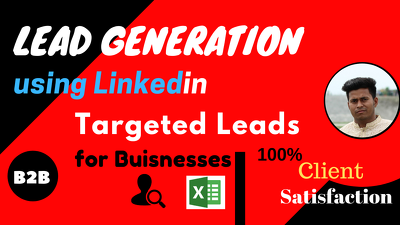 Provide 250 Leads For Your Any Targeted Business Leads