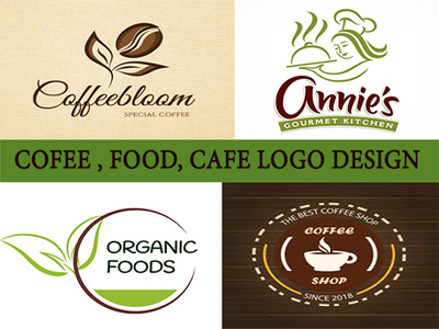 Design Food, Coffee,Cafe  Restaurant Logo Professionally