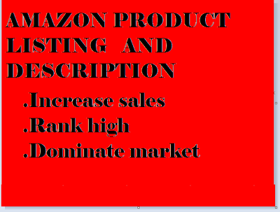 Write a SEO Amazon Listing Product Descriptions that sell