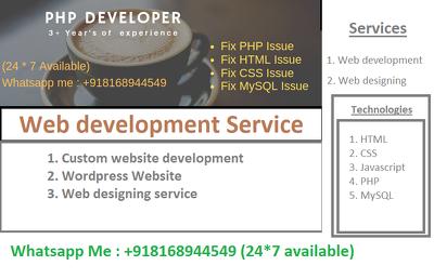 Create a custome website