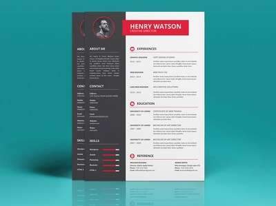 Design Modern Creative CV or Resume + Unlimited Revisions