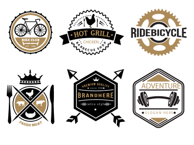 Design Retro Vintage logo + 3 initial Concepts + 24 Hrs delivery