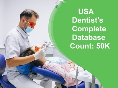 Provide you USA Dentists Database with Email & Phone Numbers