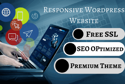 Create a responsive WordPress website design