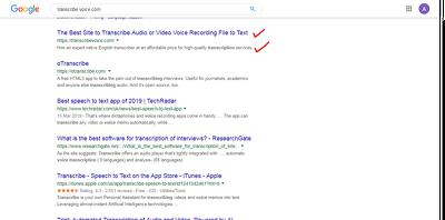 Create title & description of website to aid SEO Google ranking