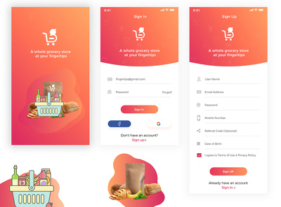 I Will Design Your Mobile App Ui,Wireframe And IOS Mobile
