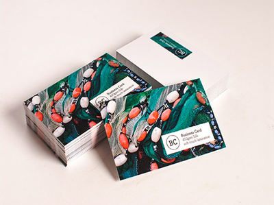 Design and print 100 business cards