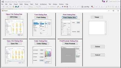 Make any type of  C# Dot Net desktop windows form application