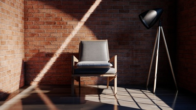 Make realistic interior and exterior renders of your 3d model