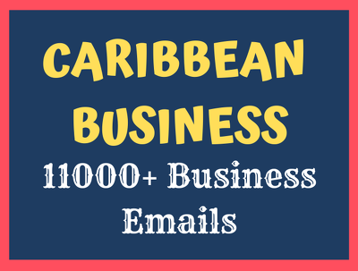 Provide Caribbean Companies Business Verified Email Database