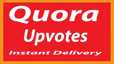 Instant Provide 40+ Worldwide Quora Upvote