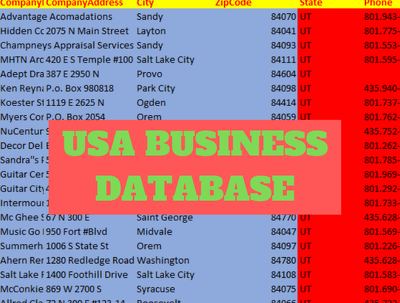Provide 4 Million 2019 USA Business Verified Email