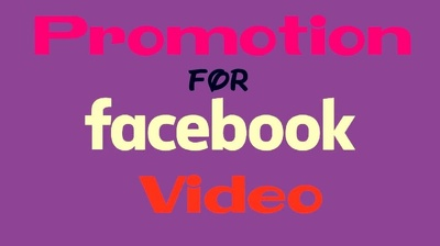 Do 5k Faceboook video marketing very effectively & efficiently