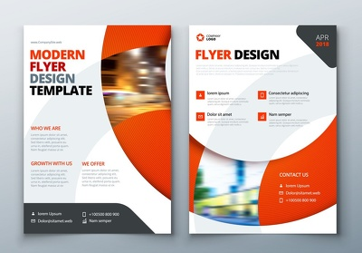 Make attractive brochure for your business