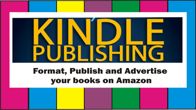 Format/Publish Your Book For Kindle On Over 9 Bookstores