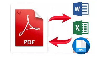 Pdf Conversion, Convert Pdf To Word,Excel,Jpg