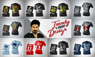Design t shirt for POD websites