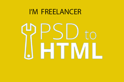 Psd to html with responsive bootstrap