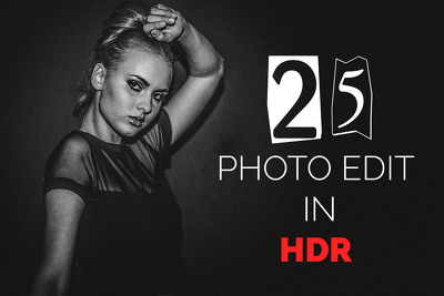 Convert your 25 image into HDR mode