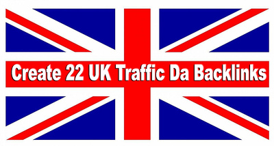 Create 22 Uk Traffic Da Backlinks