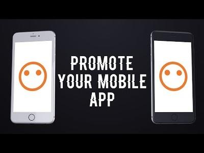 Create a sleek mobile app promo video