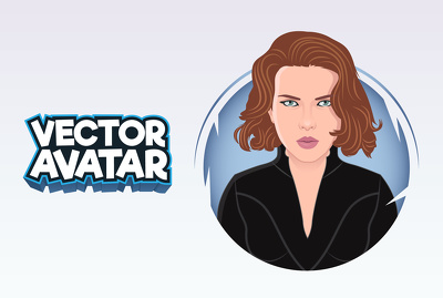 design A Flat Avatar Or Cartoon Portrait Of Your Photo