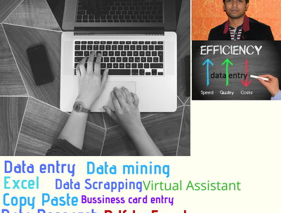 Complete 60 pages of data entry within 24 hours