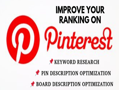 Optimize Pinterest Boards/Pins with Keyword Rich descriptions