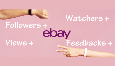 Add 1000+ eBay watchers or visitors & feedback to your listing/s