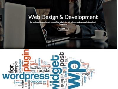 Design Redesign Full Customized & Responsive Website