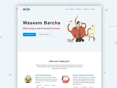 Design a clean Website or Landing Page
