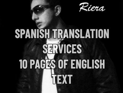 Translate 10 english to spanish text pages (Non technical)