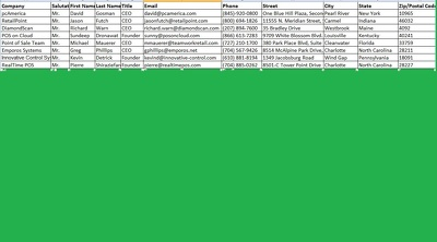 Deliver email lead for any niche in spreadsheet or CSV file