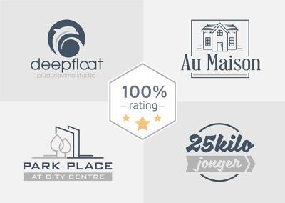 Design professional premium logo +unlimited revisions, extras