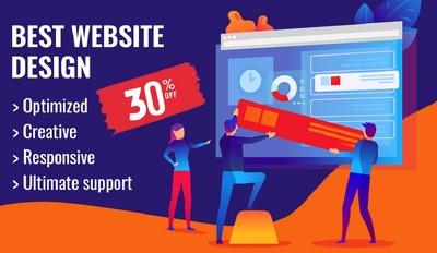 Pro Eye catching Wordpress Website