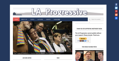 Guest post on Laprogressive.com news website – DA60
