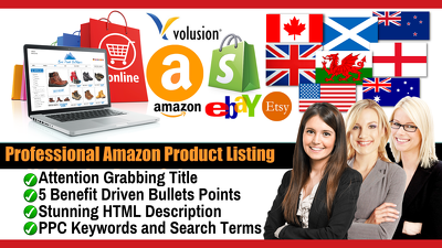 SEO Amazon Listing, Ebay Listing That Enhance Sales